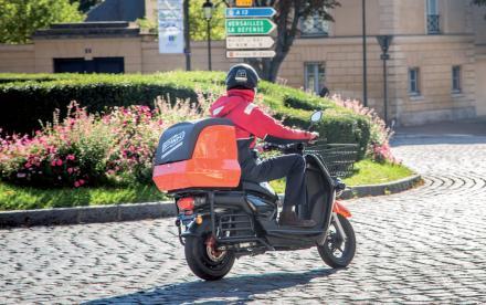 En scooter électrique