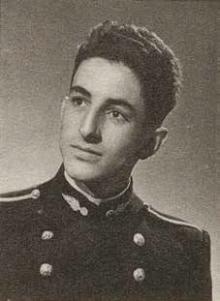 Serge RAFFET en grand uniforme de l'École polytechnique promotion 1950