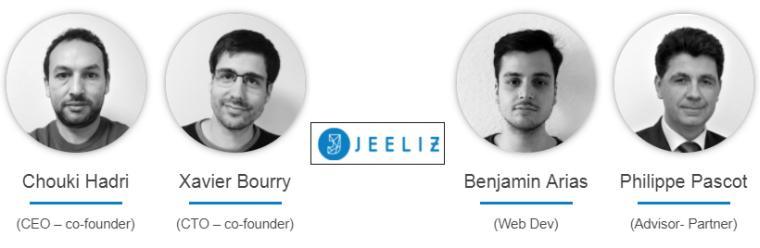 L'équipe dirigeante de Jeeliz