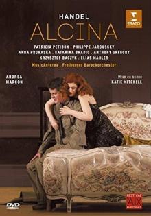 Blu-ray Opéra Alcina de Haendel par Freiburger Barockorchester, direction Andrea Marcon