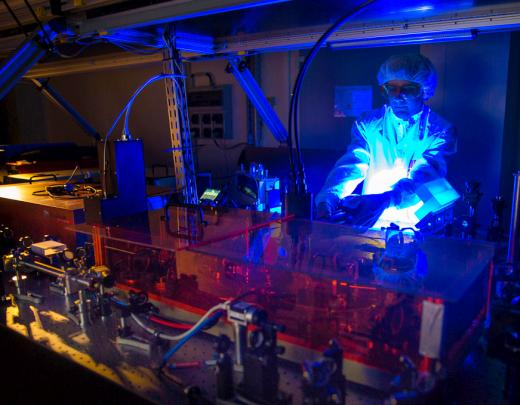 Construction du laser Apollon