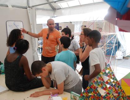 Salon des maths.à l'association Science Ouverte