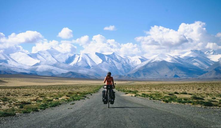 Route au Tadjikistan