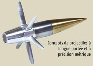 Projectile de longue portée