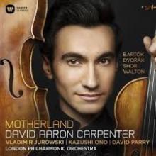 CD : Concerto pour alto de Bartok par David Aaron Carpenter avec le London Philharmonic Orchestra