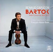 CD : Concertos pour violon de Bartok par Renaud Capuçon