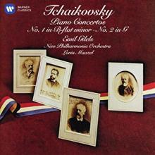 Concertos pour piano de Tchaïkovsky, réédition de Emil Gilels et le New Philharmonia