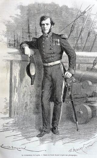 Portrait de Ernest DOUDART de LAGREE