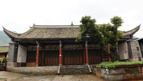 Pagode du dieu de la mine à Huize (Chine)