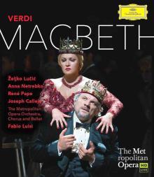 Blue-RAY Opéra Macbeth de Verdi