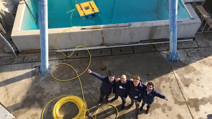 Une nouvelle plateforme sous-marine de Forssea Robotics