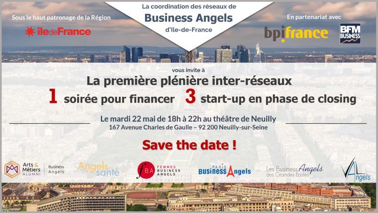 La première réunion des réseaux de Business Angels