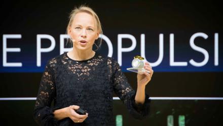 Ane Aanesland présente le propulseur ThrustMe
