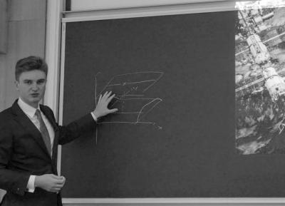 Vivien Croes polytechnicien, premier doctorant de la chaire Poséidon, soutient sa thèse