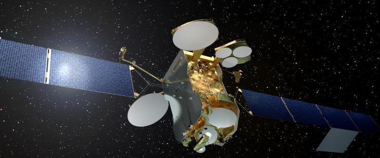 Eutelsat 172B, premier satellite tout électrique non américain