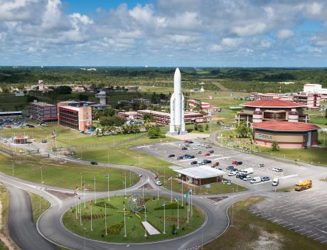 Centre technique à Kourou