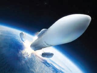 Largage moteur Ariane