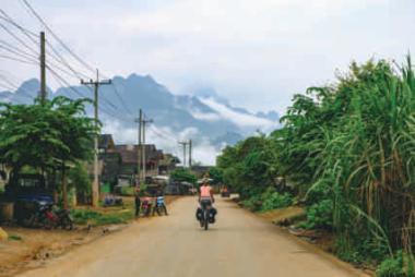 Village au Laos