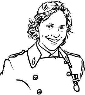 Portrat Luise Fleischer polytechnicienne promotion 2013