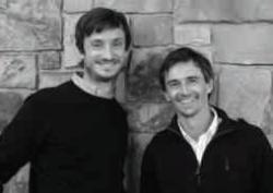 Sébastien Payen et Thibaut Scholasch, dirigeants de Fruition Sciences