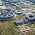 Développement du pôle Paris-Saclay, avec le nouveau centre de recherche-formation d'EDF.