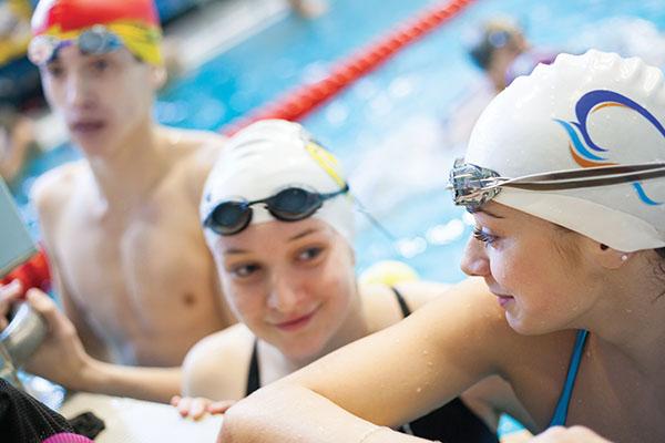 Activités sportives, natation