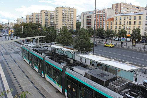 Tramway Paris