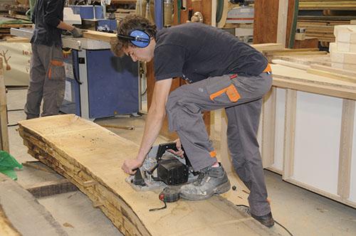 École de production des métiers du bois