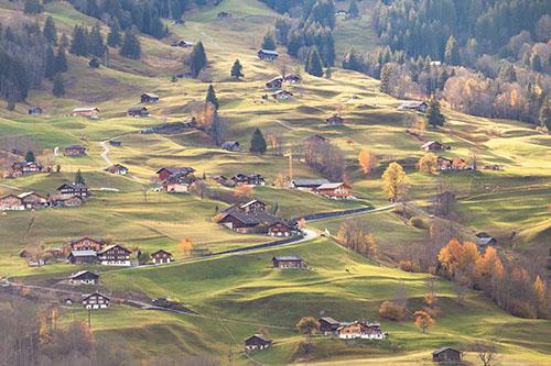 Les zones rurales peuvent redouter un mitage  du paysage soutenu  ou accru.