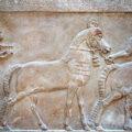 Bas relief Mésopotamie