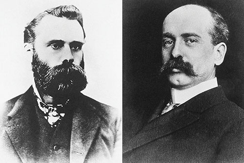 Charles Dow et  Edward Jones.