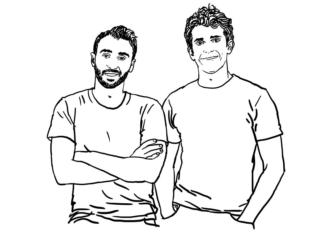 Sébastien Boyer et Thomas Palomares