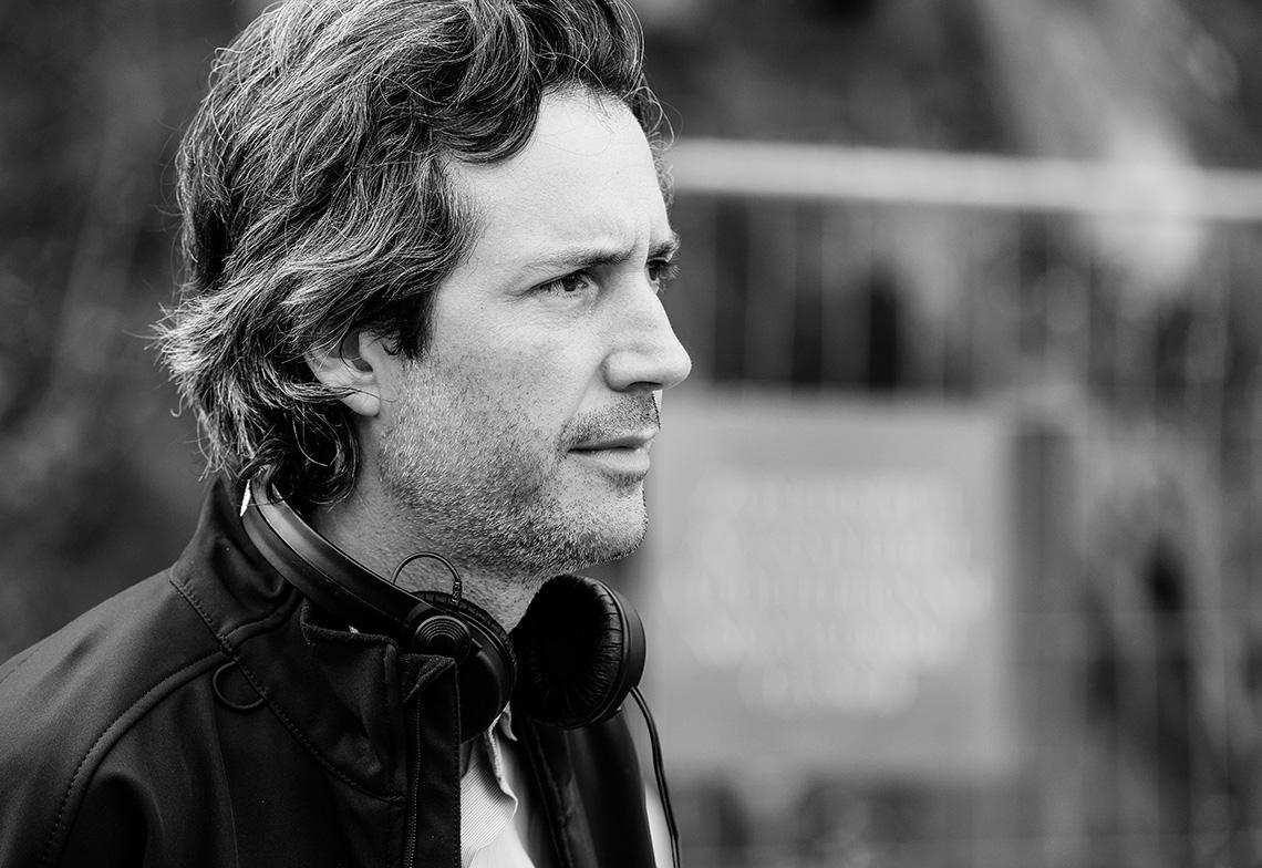 Antonin Baudry sur le tournage du Chant du Loup