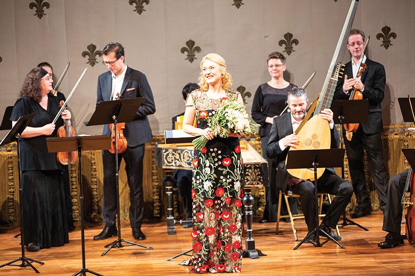 Magdalena Kožená, mezzo-soprano,et Ensemble Collegium 1704 dans l'Opéra royal du château de Versailles
