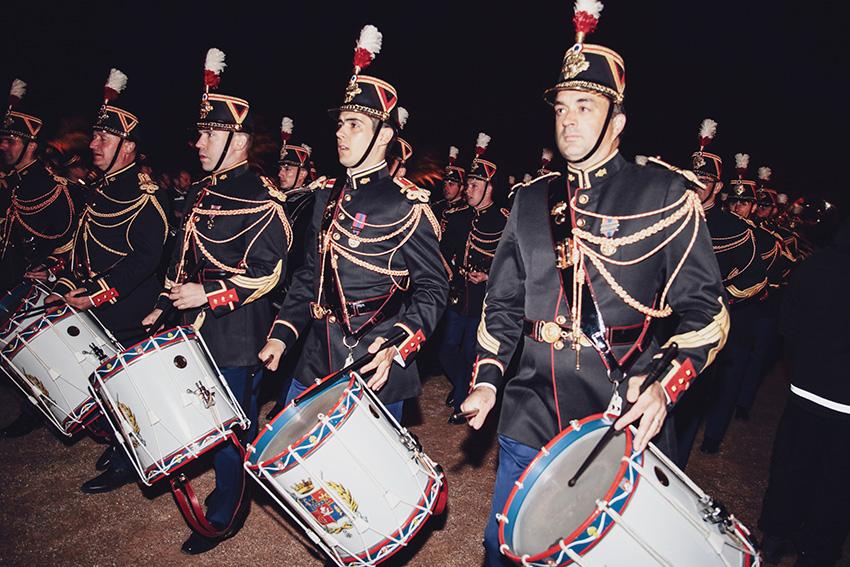 Quadrille des baïonnettes issu de deux des compagniesdu premier régiment d'infanterie de la Garde républicaine