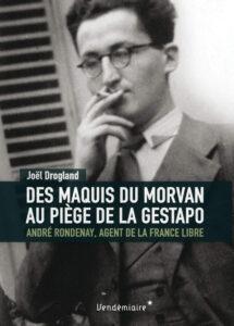Couverture du livre de Joël Dorgland sur André Rondenay