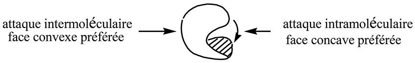 Attaque intermoléculaire