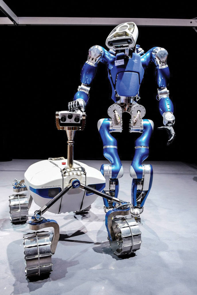 Robot humanoïde Toro
