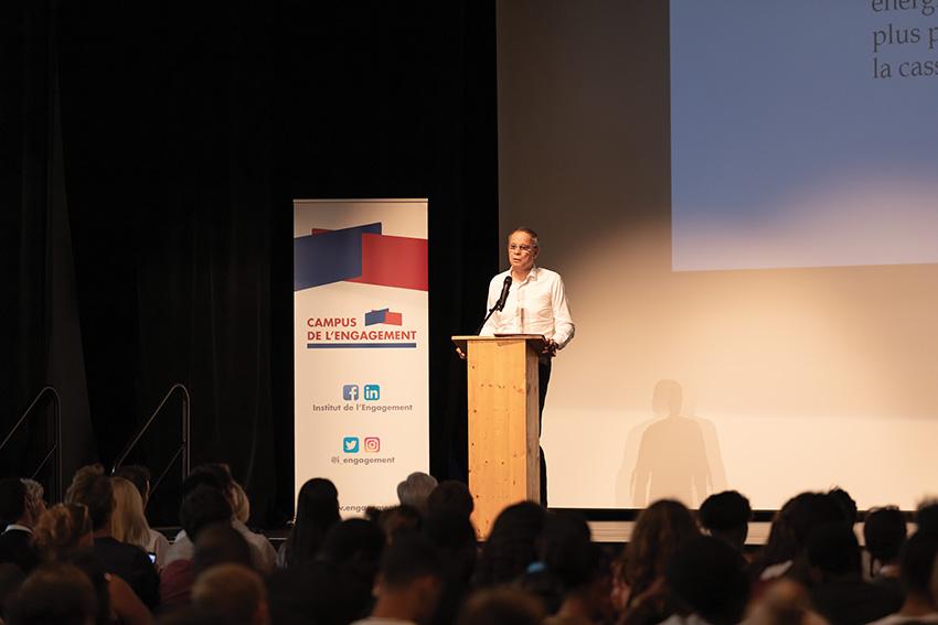 Conférence de Jean Tirole à l'Institut de l'Engagement