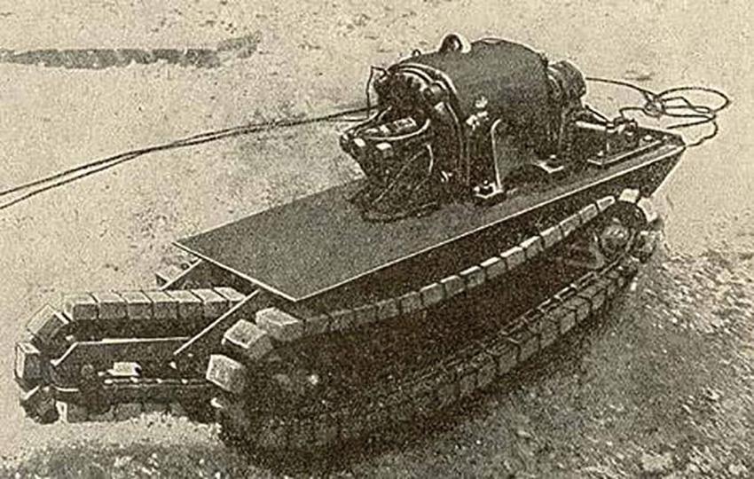 Robotique terrestre de défense - Torpille Gabet