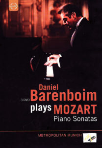 Sonates Mozart par Daniel Barenboim