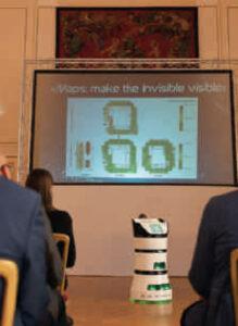 Partnering roboticsDiya One X rend visibles les pollutions qui sont invisibles à nos sens.