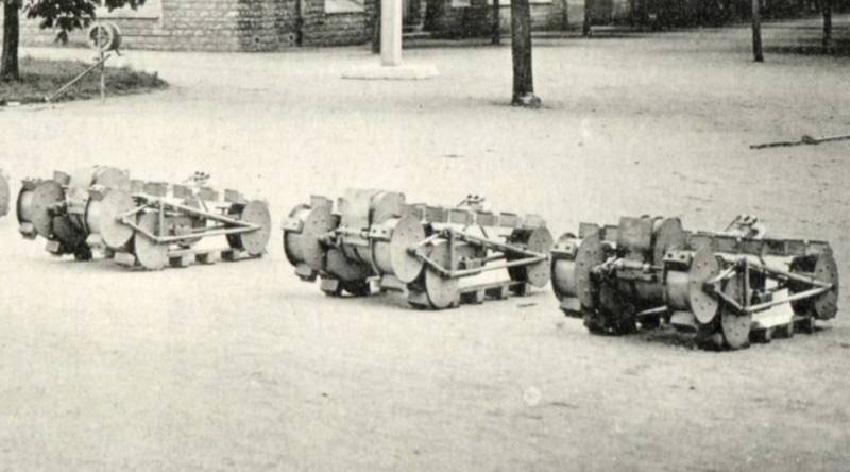 Robotique terrestre de défense - crocodile Schneider