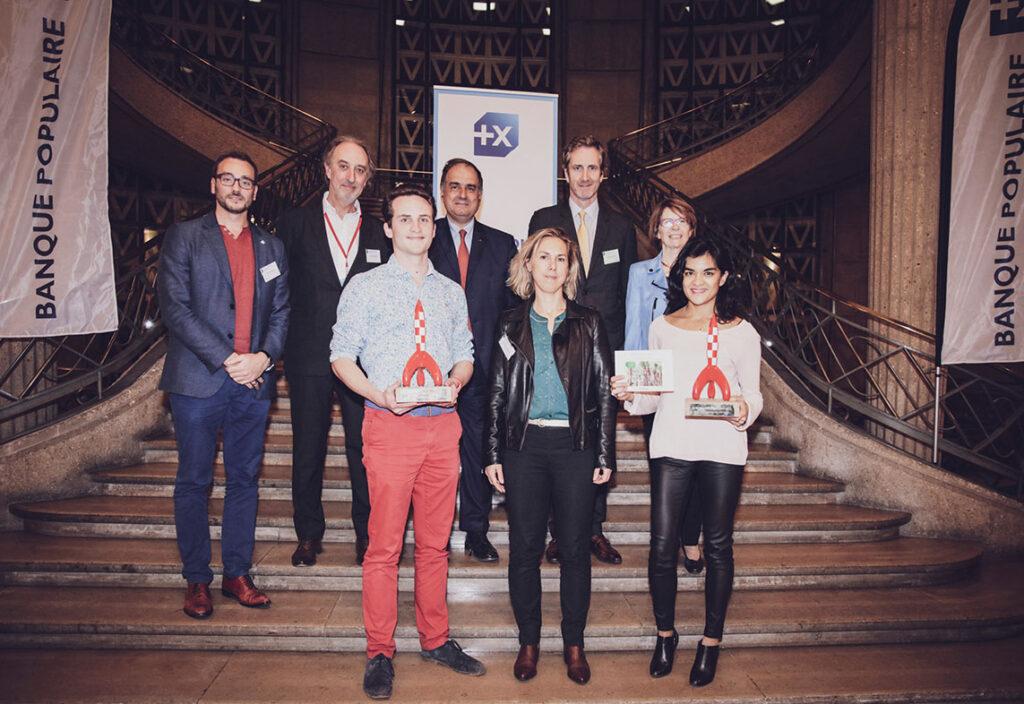 Lauréats du concours de pitch AX HEC