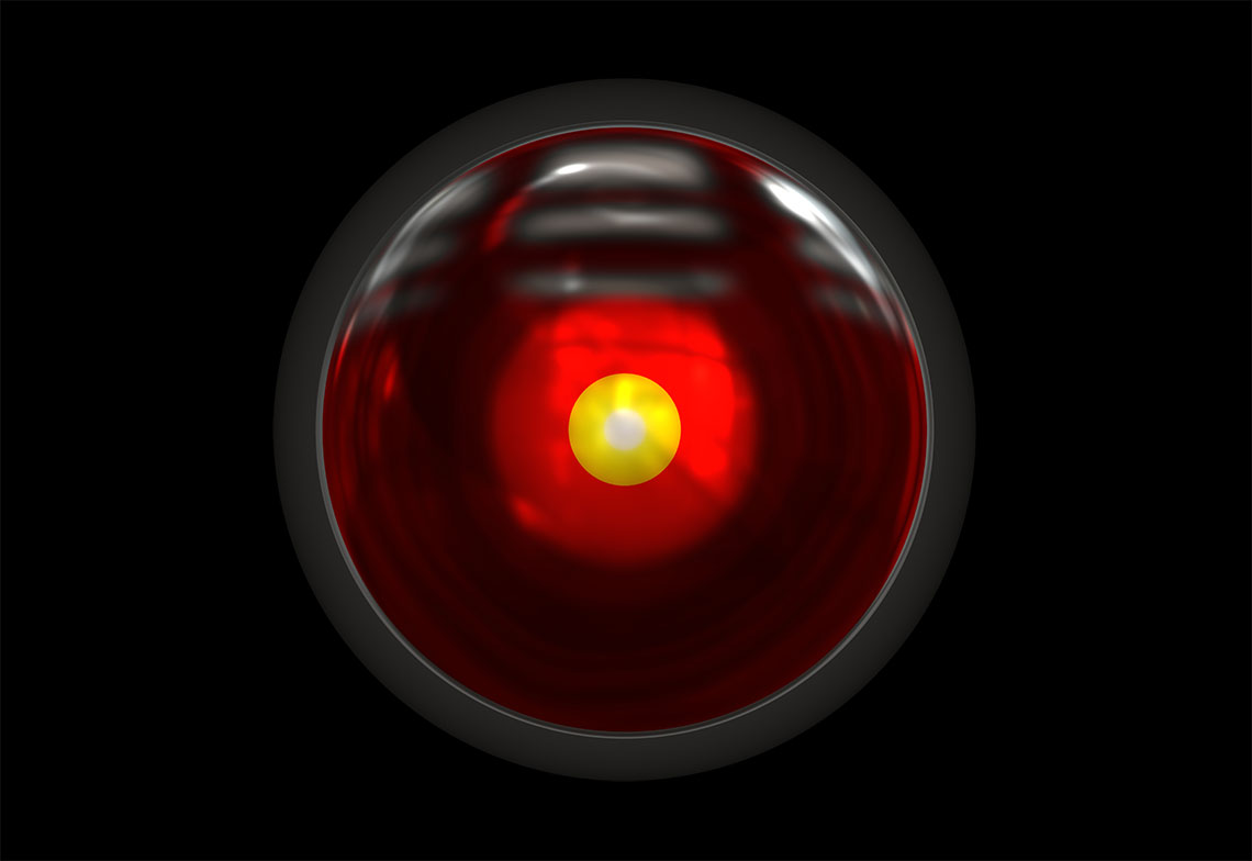 HAL 9000 l'ordinateur de 2001 l'Odyssée de l'espace
