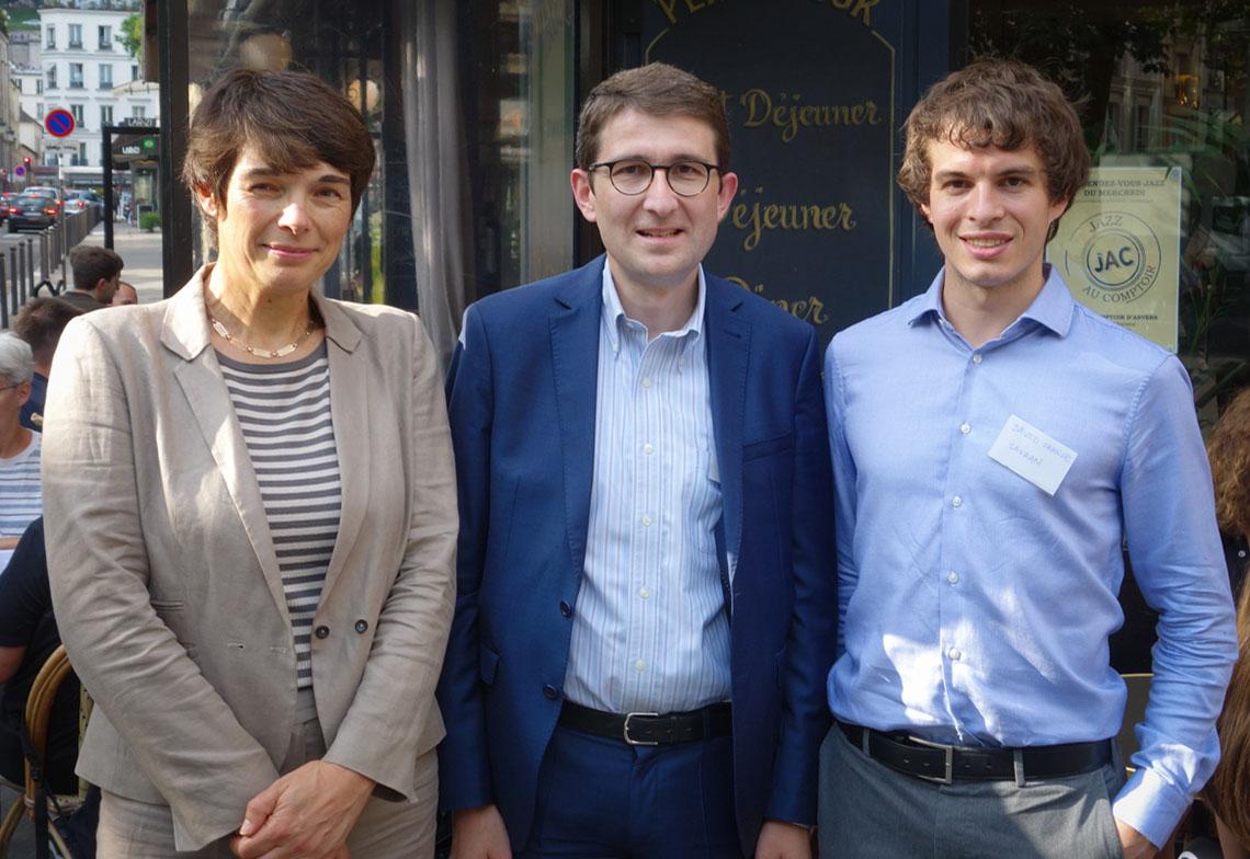 Pierre Charpentier, Céline Dupas et David Grange
