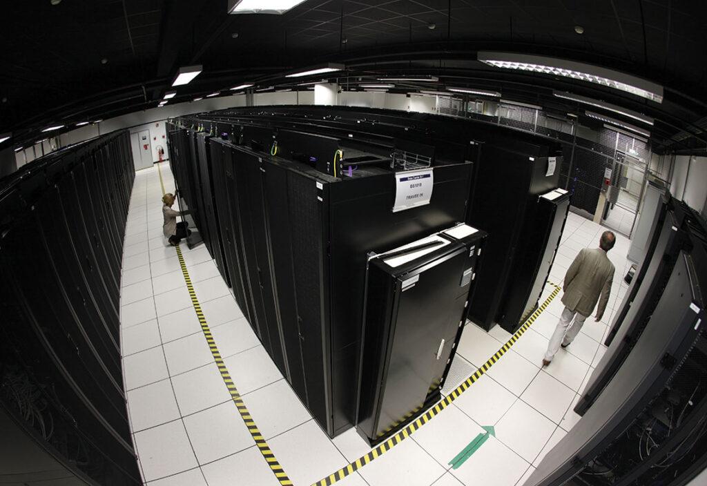 Datacenter Élancourt.