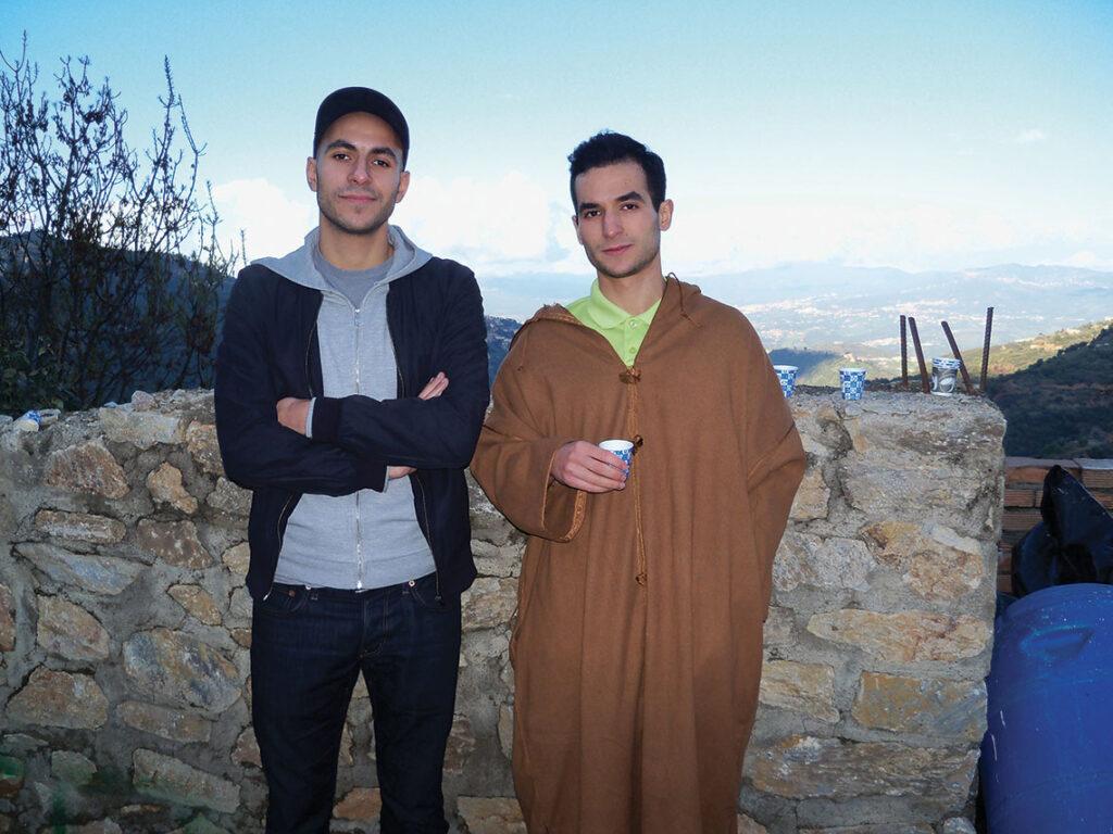 Massil Achab et son frère Mastane