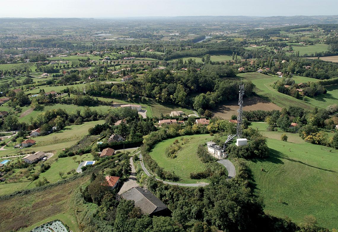 Site TDF de Villeneuve-sur-Lot (Lot-et-Garonne).