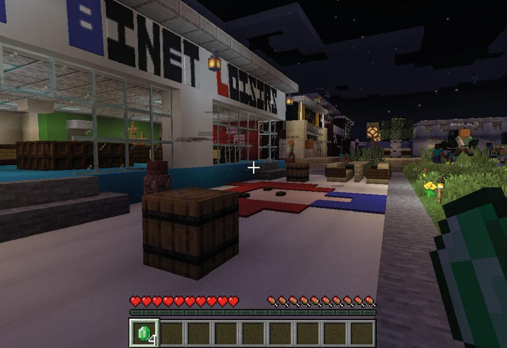 Pendant le confinement, la vie du Platâl se déplace sur Minecraft